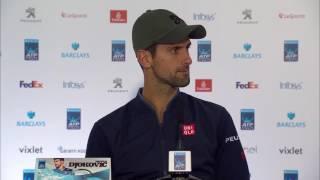 Novak Djokovic Final Press Conference