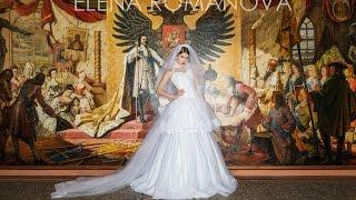 Anastasia. Свадебное платье Elena Romanova.