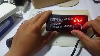 Details about  /Excellway 3-24V 3A 9-72W *New* AC//Dc Adapter Regulated Power Supply 12V Dc