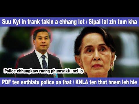 Suu Kyi in frank takin a chhang let, KNLA ten that hnem leh hle, PDF ten enthlatu police an that