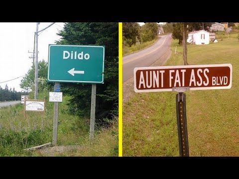Funny And Weird Street And City Names Around The World