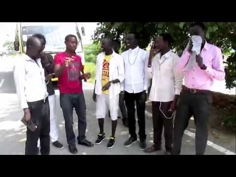 South Sudanese students in India