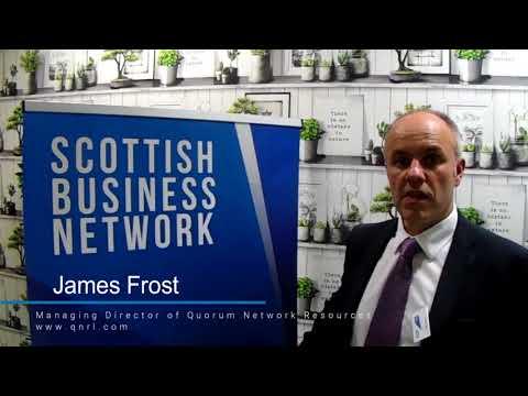 James Frost, Managing Director of Qourum