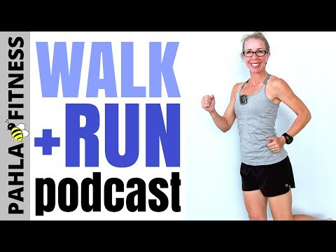 40 Minute INDOOR WALKING + RUNNING Podcast | Why Do You RUN? Walk + Run with 30-Second Intervals