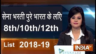 INDIAN ARMY Open Bharti 2018