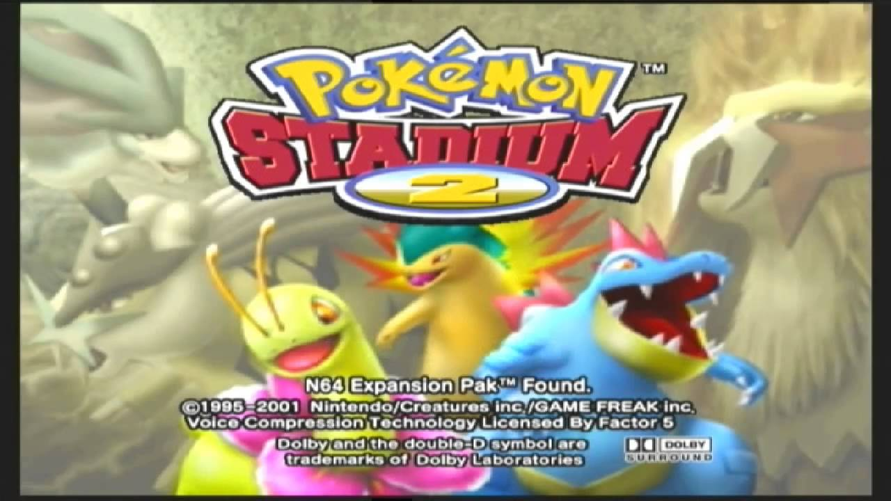 pokemon stadium 2 rom