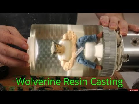 Woodturning - A Wolverine Resin Casting