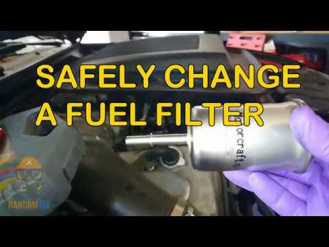 ▷️How to Safely Change a Fuel Filter + Relieve Fuel Pressure ▷️w