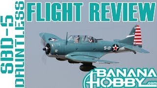 SBD-5 Dauntless FreeWing | Flight Review | Warbird & Military