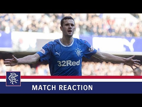 MATCH REACTION | Jamie Murphy | Rangers 2-0 Hearts