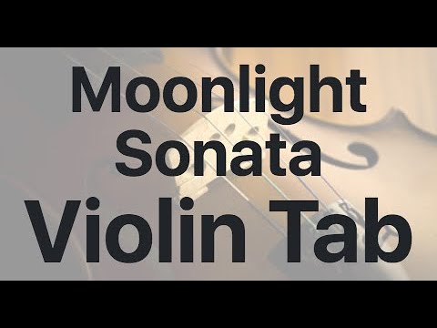 Learn Moonlight Sonata on Violin - How to Play Tutorial