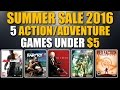 Top 5 Action/Adventure Games of the Steam Summer Sale 2016 That Are Under $5