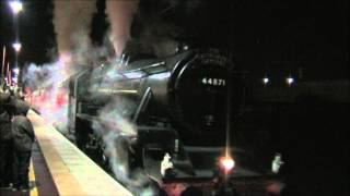 Black Fives 44871 & 45407 on The Cathedrals Express (30/11/13) Thumbnail