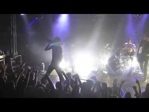 """PARKWAY DRIVE """" WRITINGS ON THE WALL"""" (WORLD LIVE PREMIERE)@ DEN ATELIER LUXEMBOURG 2016"""