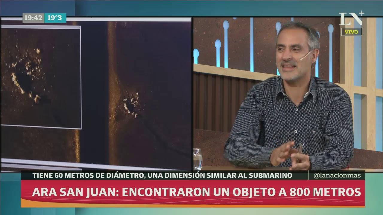 Ara San Juan: encontraron un objeto a 800 metros - Café de la tarde