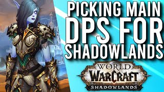The Difficult Decision Of Choosing A Main DPS In Shadowlands Beta -  WoW: Shadowlands Beta