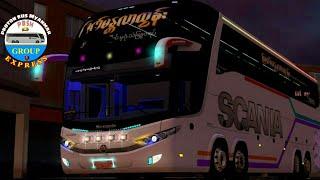 Proton Bus Simulator Road G7 1600 8x2 (Man Yar Zar Htun) screenshot 5