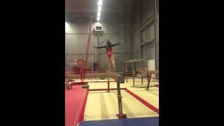 Calisse Kums training balk 2016
