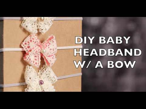 Diy How To Make Baby Headband With Bow