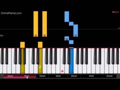 Suicide Squad - Sucker For Pain - Piano Tutorial - Easy Version