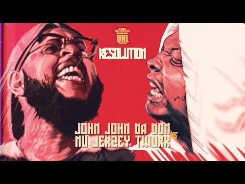NU JERZEY TWORK VS JOHN JOHN DA DON | URLTV
