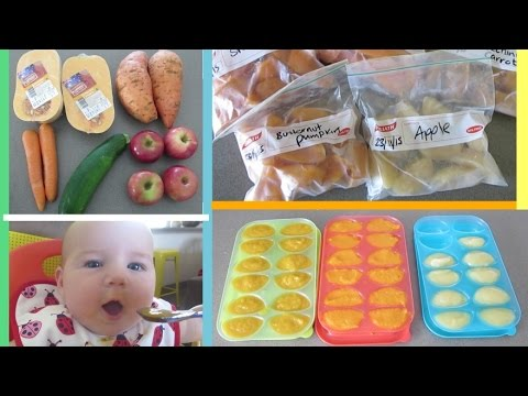 Best Kinds of Baby Food for Freezing