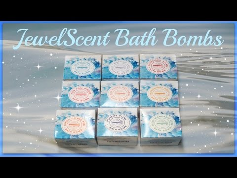 JewelScent Bath Bomb Haul - Brand New Products!