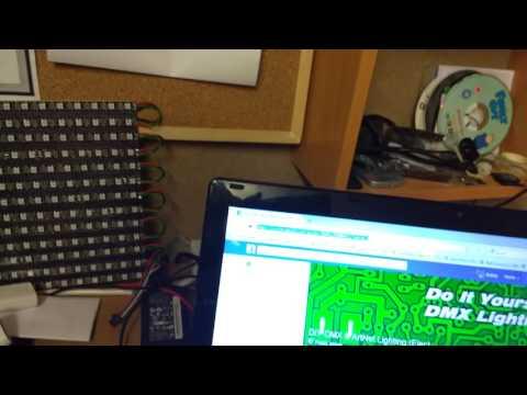 SmartShow airPixel : 16 Universe Wireless Artnet sACN DMX to WS2812 Neopixel Driver