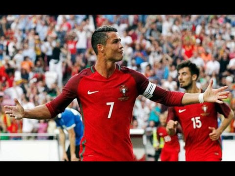 Cristiano Ronaldo ● Top 10 Goals ● Portugal 2006/2016  HD