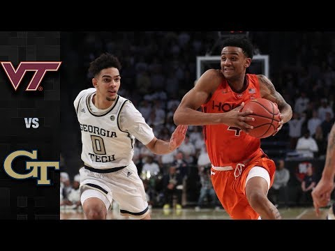 Virginia Tech vs. Georgia Tech Basketball Highlights (2018-19)