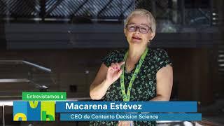 Macarena Estévez. CEO en Conento Decision Science en #OVB18