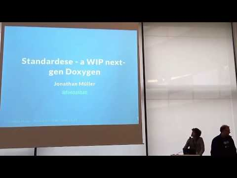Lightning Talks Meeting C++ 2016 - Jonathan Müller - Standardese