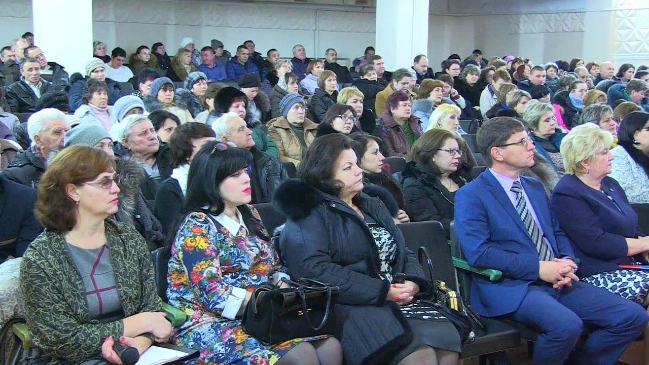 Доклад главы администрации района Н.К. Поволокиной