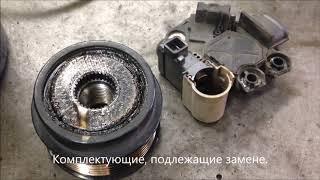 Generator ta'mirlash Kia Rio -