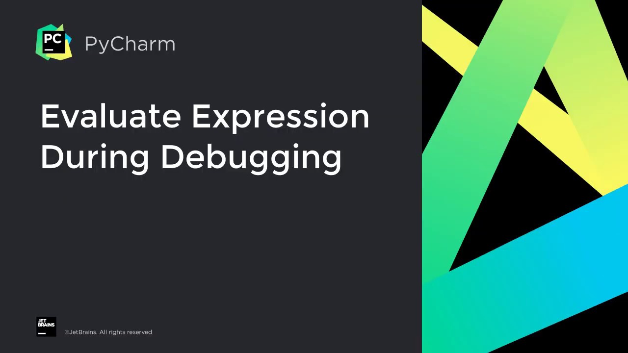 How to evaluate expressions during debugging in PyCharm
