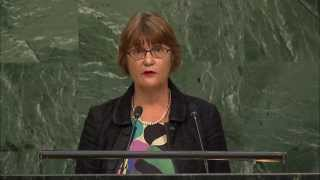 Celebrate ageing, do not fear it: HelpAge's Sylvia Beales addresses 2015 UN General Assembly