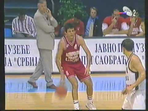 Olympiakos 67 vs Partizan 65 (1996. Belgrade Trophy)