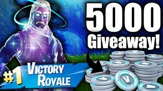 Fortnite V BUCK Giveaway Giving away Free V Bucks PS4/Xbox 2018