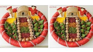 গায়ে হলুদের পানের ডালা/পান সাজানো/বিয়ের পান সাজানো/পান দিয়ে ডালা সাজানো/Betel Leaf Decoration