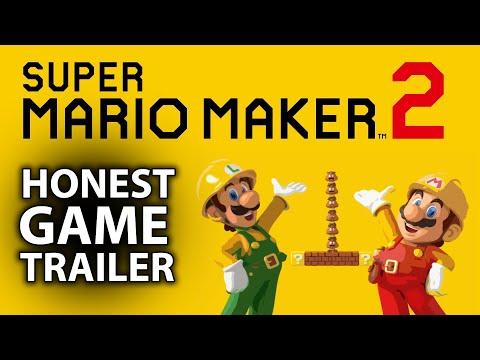 Honest Trailer for Super Mario Maker 2 (Parody)