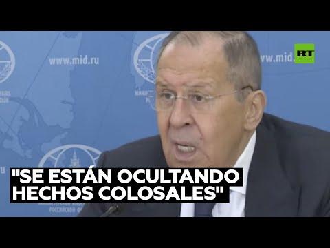 Lavrov asegura que EE.UU. oculta datos clave sobre la tragedia del MH17