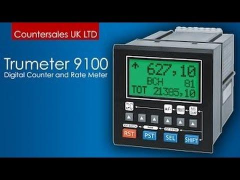 Trumeter 9100 digital counter clock and rate meter