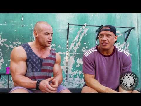 Training Legs at Gold's Gym Venice Beach with Peter Lagerman