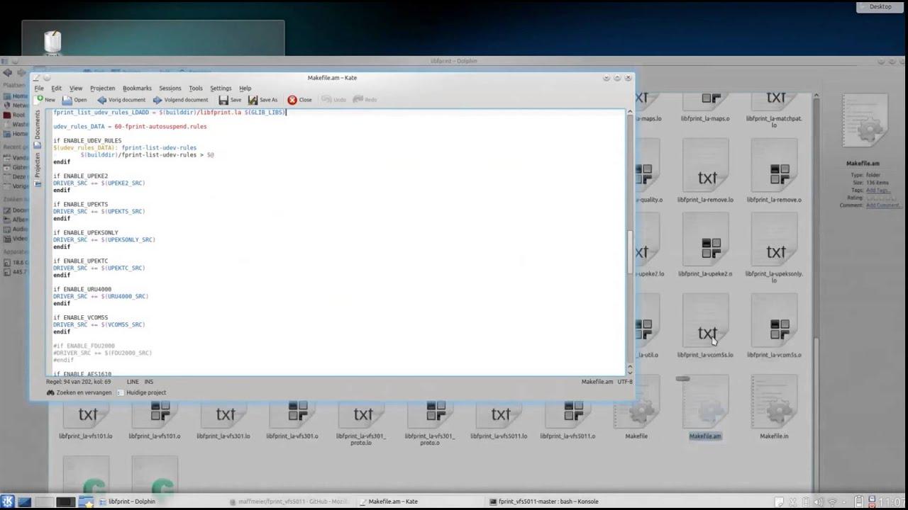 Lenovo W540 Fingerprintreader with Kubuntu 14 04