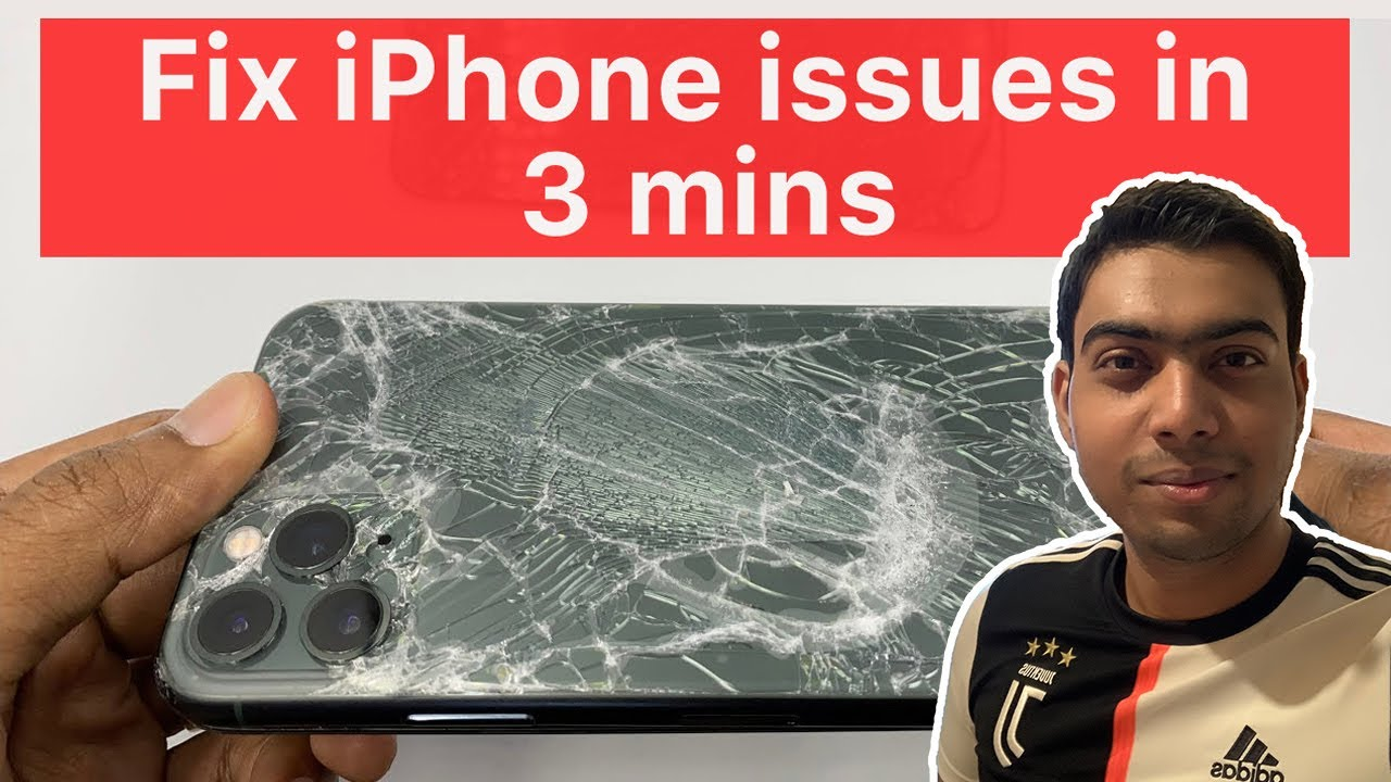 Fix iPhone issues in just 3 mins | Dr.Fone
