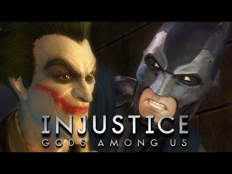 Injustice: Gods Among Us - БЭТМЕН VS ДЖОКЕР #1