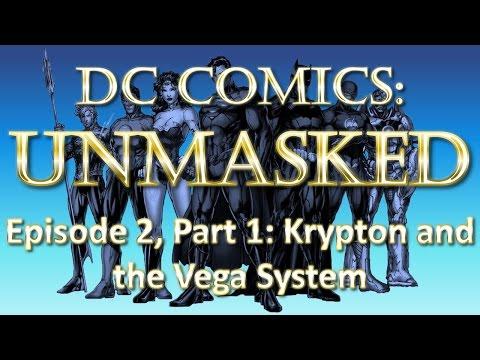 DC Comics Fictional Geography UnMasked - Krypton & the Vega System - Part 1/8