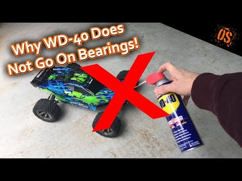Don't Use WD 40 on Bearings