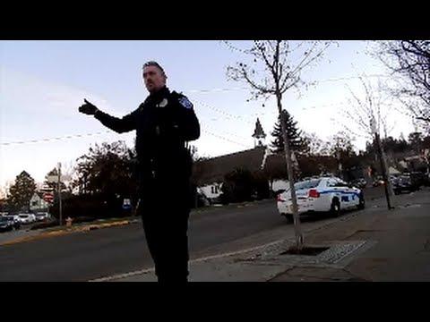 Friendly Ashland Oregon Police, open carry Mosin Nagant and pistols.