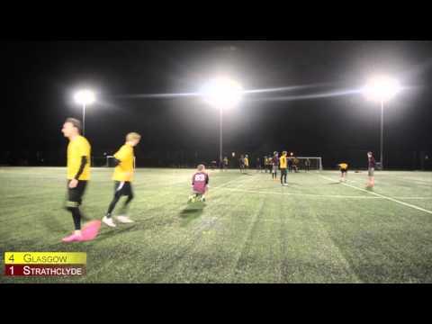 Glasgow vs Strathclyde BUCS League 2015/16